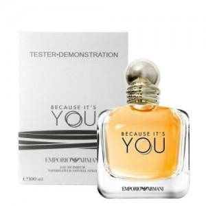 Because it's You by Giorgio Armani for her 100ml Tester