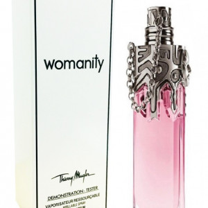 Thierry Mugler Womanity EDP Refillable Spray for her 80ml Tester