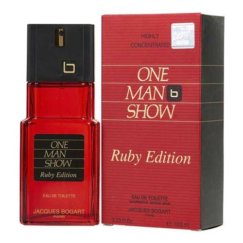One Man Show Ruby Edition by Jacques Bogart Eau De Toilette for Him 100ml