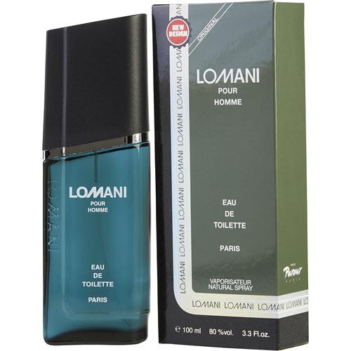 Lomani Eau De Toilette Paris Natural Spray for Him 100mL