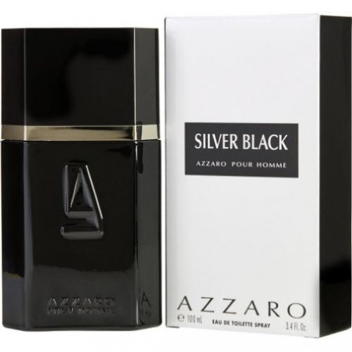 Azzaro Silver Black EDT for Him 100ml