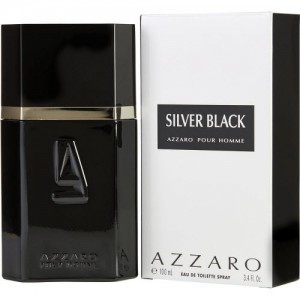 Azzaro Silver Black for  Him Eau De Toilette 100ml