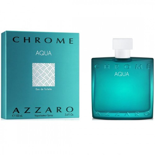Azzaro Chrome Aqua EDT For Him 100mL