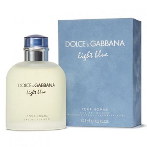 Dolce & Gabbana Light Blue pour homme For Men Eau De Toilette 125ML