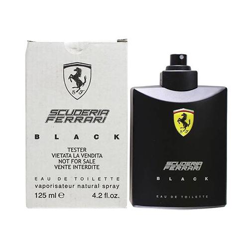 Ferrari Black Ferrari EDT for him 125ml Tester