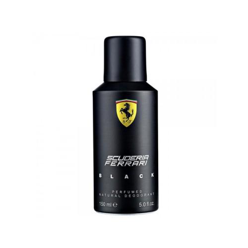 Ferrari Scuderia Black by Ferrari Body Spray for him  150mL