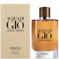 Giorgio Armani Acqua Di Gio Absolu EDP for Him 125ml