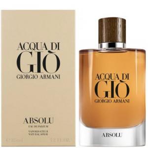 Acqua Di Gio Absolu by Giorgio Armani Eau de Toilette for him 125ml