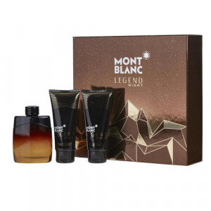 Mont Blanc Legend Night Gift Set for him 100ml