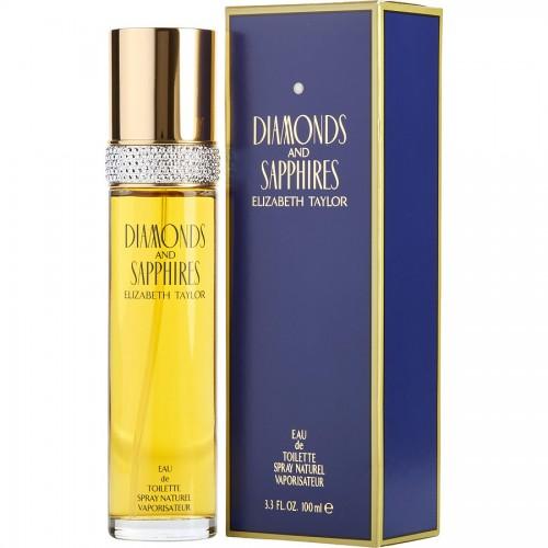 Diamonds and Sapphires by Elizabeth Taylor Eau De Toilette for her 100ml