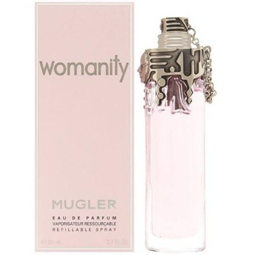 Mugler Womanity Eau De Parfum Refillable Spray for her 80ml
